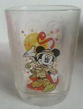 Walt Disney World MICKEY MOUSE 2000 MAGIC KINGDOM MCDONALD'S drinking GLASS cup
