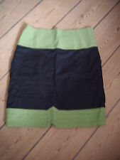 skunkfunk SKFK Rock schwarz grün NEU mit Etikett Gr 2 M 38