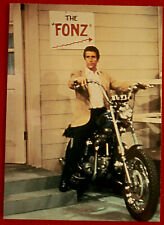 HAPPY DAYS - Indvidual Base Card #67 - Man on a Motorcycle - Duocards 1998