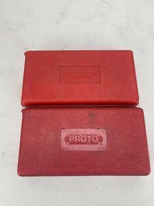 Proto Professional Complete STANDARD AND METRIC Hex/Allen Bit SetS LOT