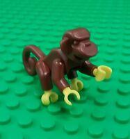 *NEW* Lego Brown Monkey Chimpanzee Zoo Animal Pirate Ship Pet x 1