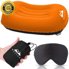 Chillax UltraLight Camping Pillow - Compressible, Compact, Inflatable, Ergonomic