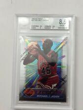 1994-1995 Finest #331 Michael Jordan BGS 8.5 Chicago Bulls With Protector