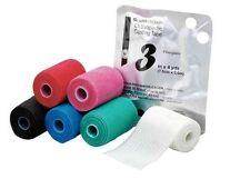 "Fiberglass casting tape 4""x 4yds, box of 10 rolls multiple colors"