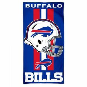 "BUFFALO BILLS BEACH TOWEL 30""X60""  NFL LICENSED 100% COTTON"