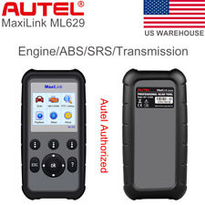 Autel ML629 OBD2 Diagnostic Tool 4 System Code Reader ABS Airbag Transmission
