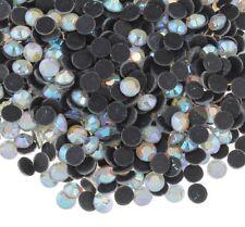 2880 Glas DIY HOTFIX Strasssteine Strass Crystal AB Rhinestone 4mm AA GRADE 415