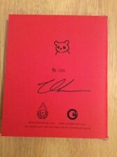 SIGNED & SKETCHED - Luke Chueh Show Inferno (Notes) Limited Edition 91/250 + Pic