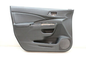 2016 HONDA CRV CR-V EXL FRONT LEFT DRIVER SIDE DOOR PANEL BLACK OEM 16