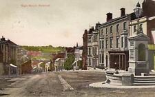 High Street Halstead old pc used 1905 Halstead postmark Arthur Smith
