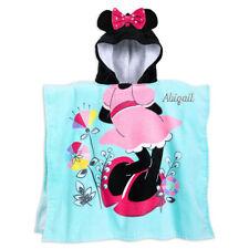 NWT Disney Store Minnie Mouse Hooded Towel Beach poncho Bath Swim Pool
