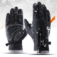 US Winter Thermal Ski Gloves Waterproof Snowboard Snow Motorcycle Skiing Gloves