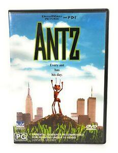 Antz (DVD, 1998) Sylvester Stallone Region 4 Free Postage
