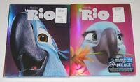 Kid Blu-ray DVD Lot - Rio (New) Rio 2 (New)