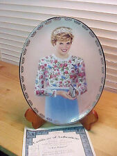 Collector Plate PRINCESS DIANA -  A True Princess   Limited Edition 3rd issue