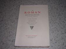 1927.le roman bourgeois / Furetière.éditions Porteret.1des 25ex.sur japon