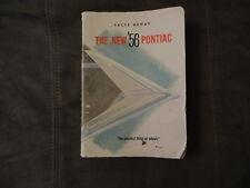 1956 PONTIAC FACTS BOOK - 15 Models - ORIGINAL!
