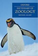 A Dictionary of Zoology (Oxford Dictionary of Zoology)-ExLibrary