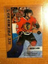 2015-16 Upper Deck Ice #138 Vincent Hinostroza RC - #/1499