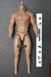 Hot Toys HT 1/6 Scale MMS306 The Thor 4.0 Nude Body Action Figure 12in.