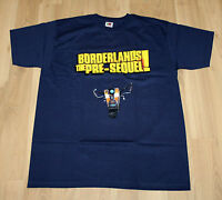 Borderlands The Pre-Sequel very rare Promo T-Shirt from Gamescom 2014 Size L
