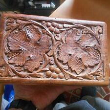 wooden Indian box