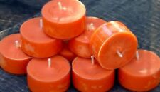 10pk 120hr/pack CITRONELLA, SAGE & DRIFTWOOD Scented PURE SOY TEA LIGHT CANDLES