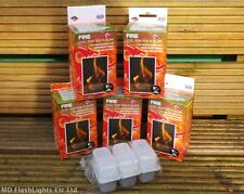 30 X BCB FIREDRAGON SOLID FUEL ETHANOL BLOCKS BUSHCRAFT SURVIVAL CAMPING COOKING