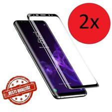 2x Samsung Galaxy S8 S9 S10 Plus 3D Panzerfolie 9H Schutzglas Displayschutz FULL
