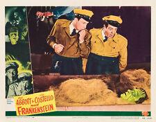 """Abbott Costello Meet Frankenstein Movie Poster Replica 14 x 11"""" Photo Print"""