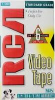 4 Pack RCA T-120H Standard Grade 6-Hour VHS Blank Empty VCR Video Tapes Lot