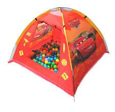 "Spielzelt ""CARS"" +200 Bällebad Bälle 6cm Zelt Pop UP Pool Neu"