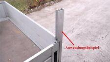 Alu Spriegel End Profil 60cm 0,6m (8€/m) Bordwand Spriegelbrett