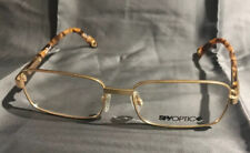Spy Hunter Glasses Gold Used Good Condition No Lenses (159)