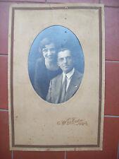 1930 BELLA FOTO DI UNA COPPIA DELLO STUDIO FOTOGRAFICO TUDISCO DI CATANIA