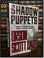 Shadow Puppets ✎SIGNED✎ by ORSON SCOTT CARD Ender's 3 Hardback 1st Edition Print