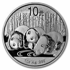 Nuevo 2013 plata panda chino 1oz moneda del lingote (encapsulada por la Casa de la moneda)