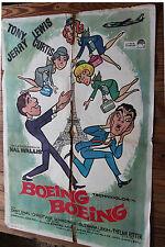Used - Cartel de Cine  BOEING BOEING  Vintage Movie Film Poster - Usado