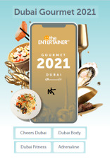 Entertainer Dubai 2021 with Fine Dining, SPA, Cheers & Hotels 7 day Rental