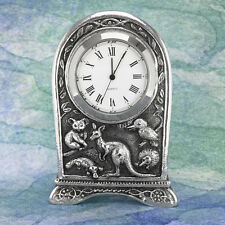 Kangaroo & Friends Australian Souvenir Clock Australiana Gift, Australian Made