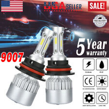 HB5 9007 LED Headlights 360000LM LED Lights Bulbs Kit High Low Beam Super Bright