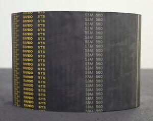 BANDO 160mm breiter Zahnriemen S8M Breite 160mm Länge 560mm - zum zuschneiden
