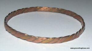 ARtist Made Copper Bangle Bracelet