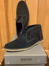 NIB Mens Kenneth Cole Reaction Passage Boot Navy Chukka Lace-Up Boots US 9.5