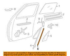 GM OEM Front Door-Weatherstrip Seal Left 15661415