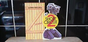 Extremely RARE 1989 Short Circuit 2 UK Premier Invitation