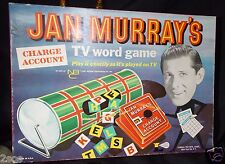 Vintage 1961 JAN MURRAY'S NBC TV Word Board Game  Lowell Toy Corp.