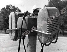 MAGNETIC PHOTO OF DRIVE-IN MOVIE SPEAKERS - Flexible Fridge MAGNET