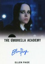 EL The Umbrella Academy S1 Autograph card Ellen Page as Vanya Hargreeves #5
