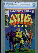 Marvel Super-Heros #18 1969  Comic CBCS 8.5 VF+ 1st Guardians of the Galaxy